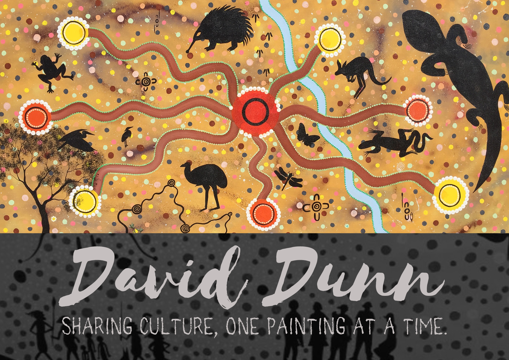 David Dunn: Sharing Culture, One Painting at a Time